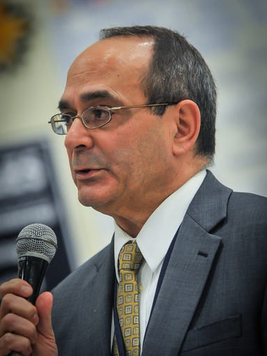Freehold District School Superintendent Rocco Tomazic