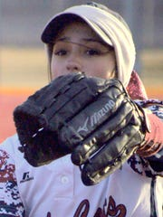 Lady Cat pitcher Adriana Jaquez came on in relief with