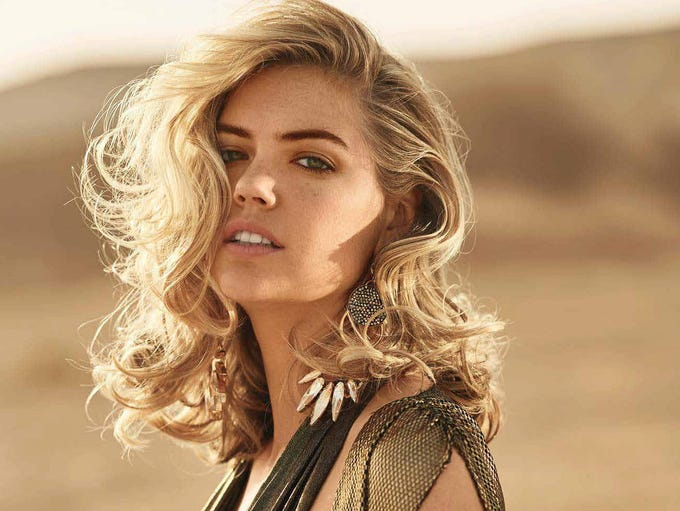 Supermodel Kate Upton is America's No. 1 beauty --