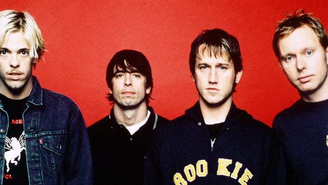 The Foo Fighters played two Indiana shows in 2000.