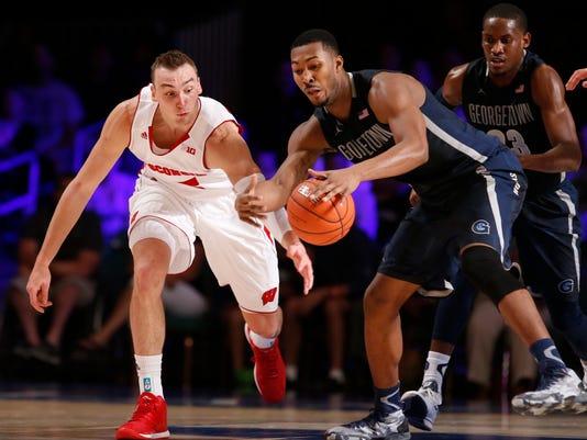 NCAA Basketball: Battle 4 Atlantis-Georgetown vs Wisconsin