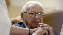 A file photo taken October 9, 2007 shows British Sir