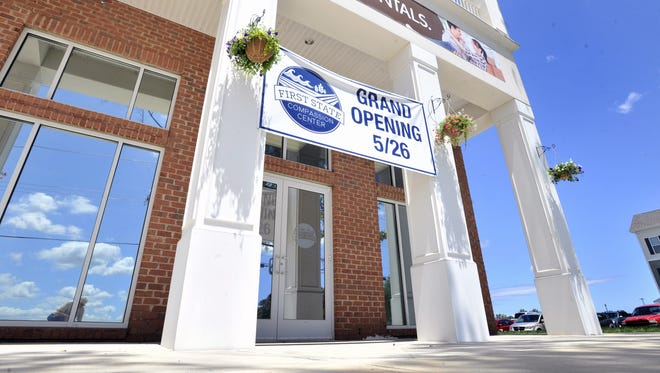First State Compassion Center South opened Friday at 12000 Old Vine Blvd., Building 4D 102, in Lewes.