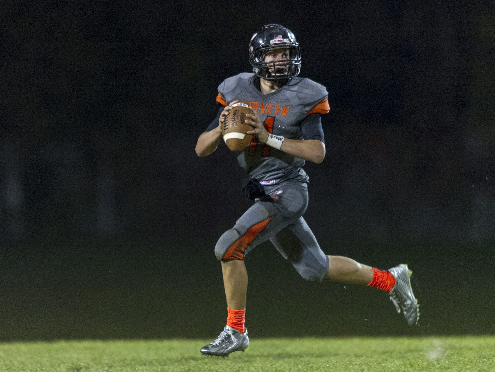 FILE – Chase Andries continues to put up big numbers for unbeaten Beech Grove.