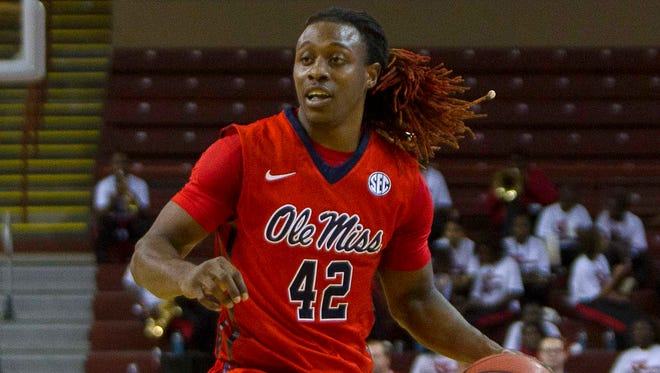 Ole Miss guard Stefan Moody scored a career-high 30 points in the Rebels' 76-60 win vs. Towson on Friday.