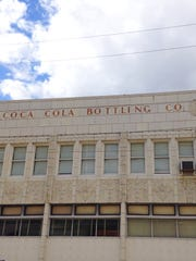 The art deco Coca-Cola Bottling Company