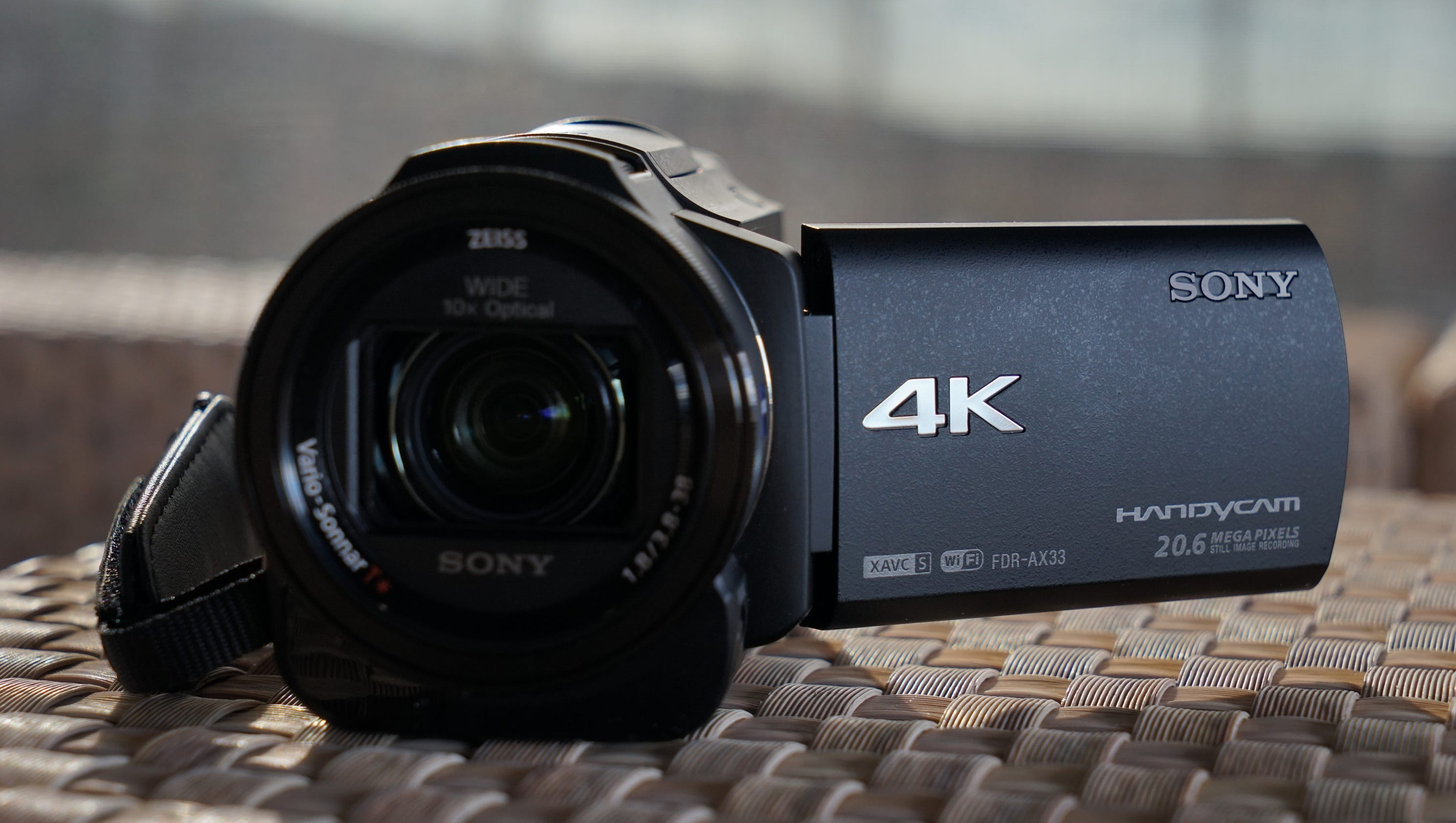 Ces 2015 preview sony 39 s new 4k video cameras for New camera 2015
