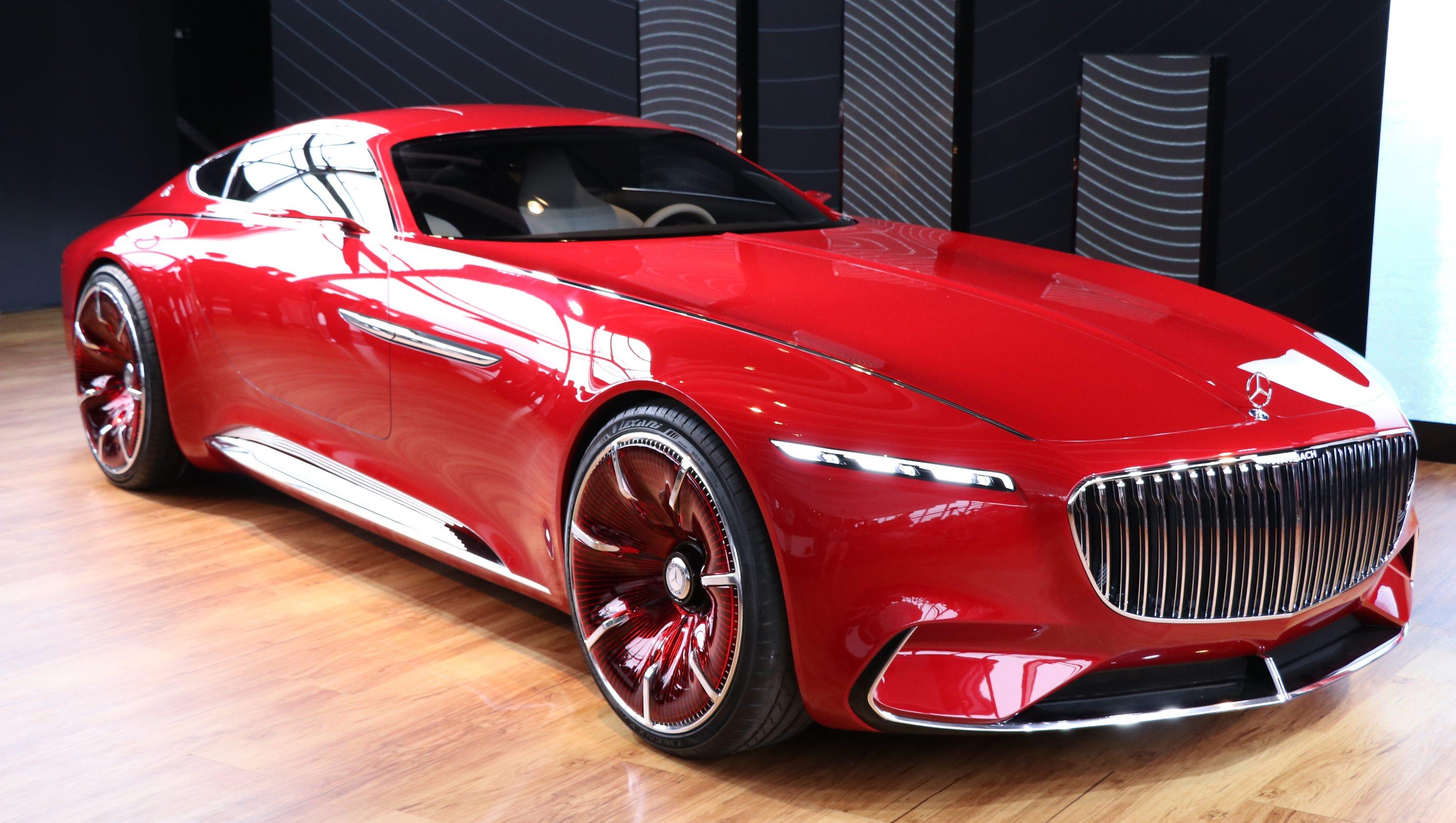 Mercedes-Benz creates Maybach coupe concept