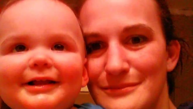 Jessica Preston poses with her child Elijah.