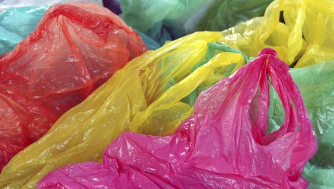Some area grocery stores and retailers accept plastic shopping bags for recycling.
