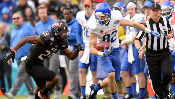 Boise State's Thomas Sperbeck has turned into the Mountain