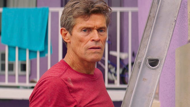 """Willem Dafoe plays a gruff but big-hearted motel manager in """"The Florida Project."""""""