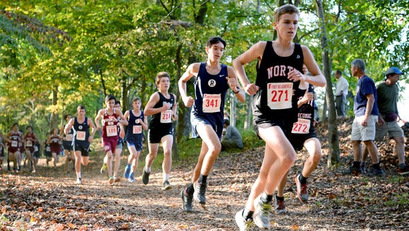 Runners compete in the 2016 Mountain Athletic Conference