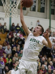 North's Austin Trochinski is averaging 10.8 points per game this season.