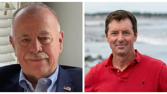 Republican challenger Lou Gargiulo of Hampton Falls, left, is facing incumbent Democrat Dr. Tom Sherman in the state Senate District 24 seat on Nov. 3.