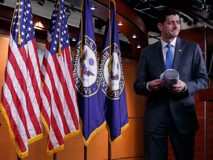 Speaker of the House Paul Ryan announces he will not