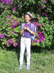 Rosa Maria Hernandez, a 10-year-oldwho lacks legal