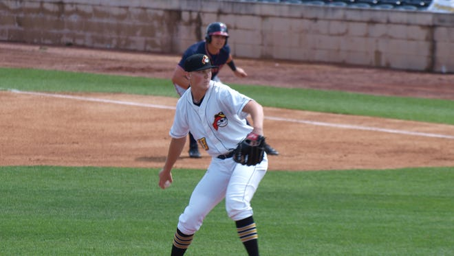 Cedar Rapids' Mitch Keller compiled a 3-1 mark with a 0.79 ERA through his first six starts with the West Virginia Power — the Class A affiliate of the Pirates.