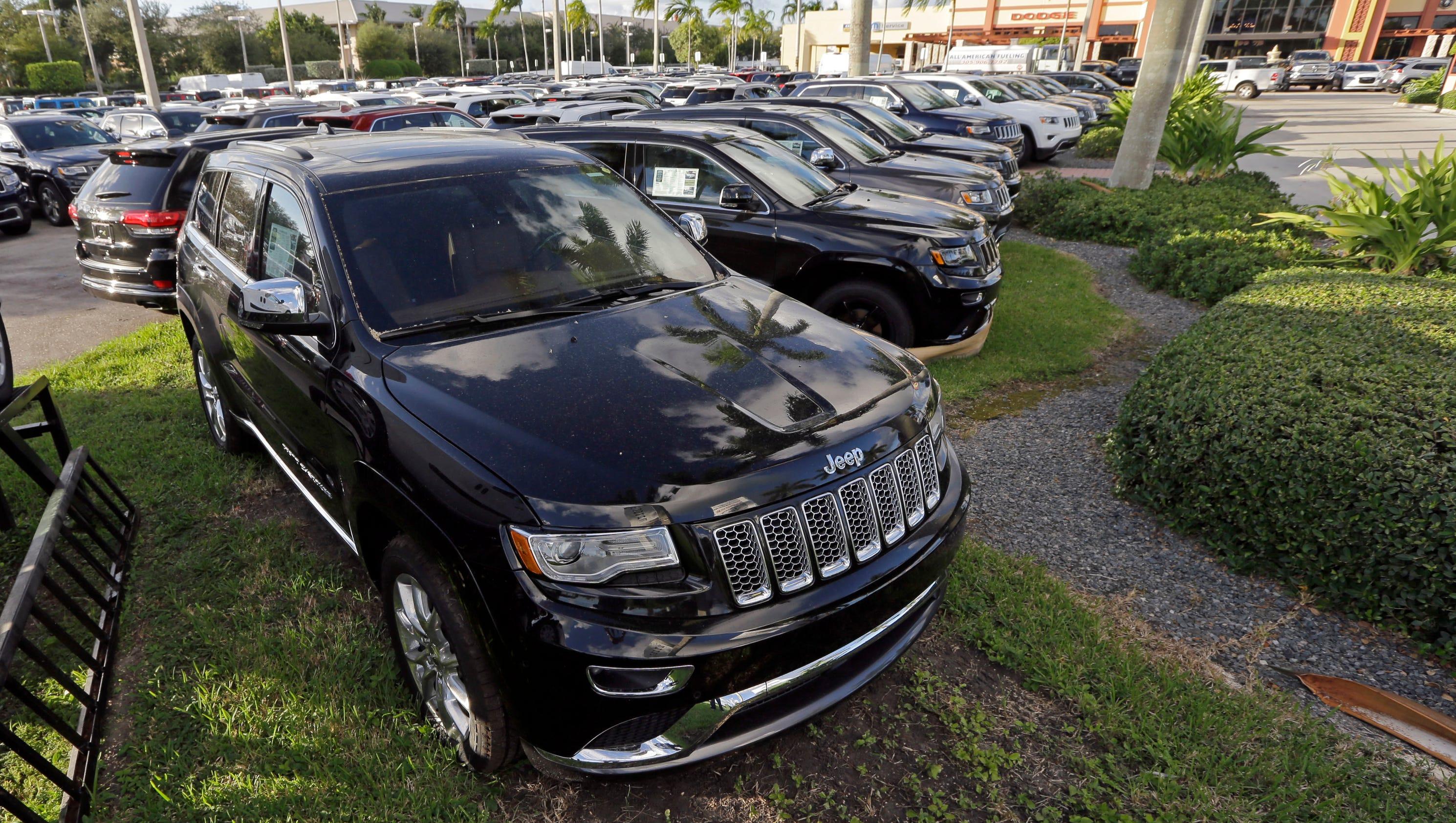 SUVs dominate auto show