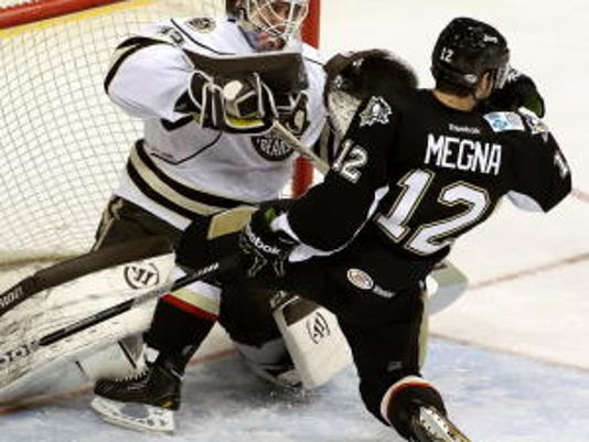 Don't expect many pleasantries when the Wilkes-Barre/Scranton Penguins arrive for a stream of late-season games. (Jeremy Long -- Lebanon Daily News)
