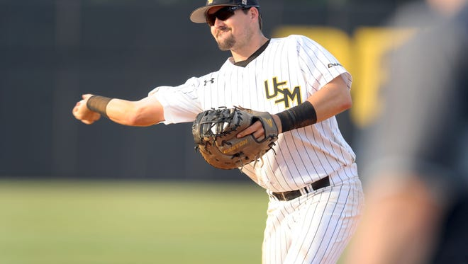Southern Miss first baseman Tim Lynch may be one of several Golden Eagles picked in this week's Major League Baseball First-Year Player Draft.
