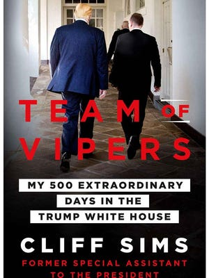 "The book by Cliff Sims, called ""Team of Vipers,"" is the latest in a series of insider accounts by journalists and former Trump staffers who paint an unflattering picture of life in the West Wing."
