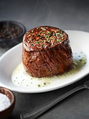 The new Ruth's Chris Steak House in the Silver Legacy Resort Casino in downtown Reno will serve the chain's core menu of steaks and chops. The restaurant opens Dec. 3, 2018.