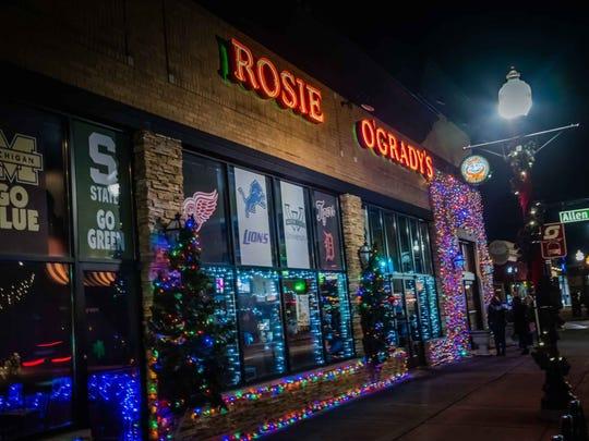 Rosie O'Grady's is a sports-watching hot spot.
