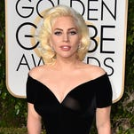 In this Jan. 10, 2016 file photo, Lady Gaga arrives at the 73rd annual Golden Globe Awards in Beverly Hills, Calif.