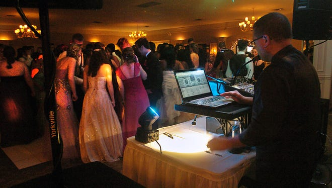 South Lyon East students take the dance floor during prom in this 2015 Hometown Life file photo.