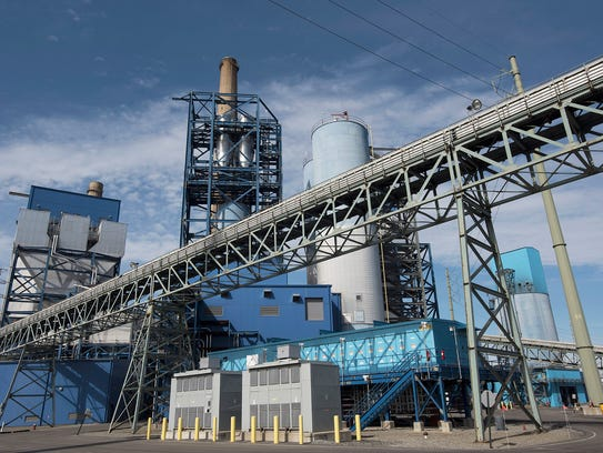 File photo of a PSEG power plant in Jersey City.