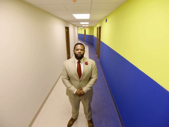 Gemar Mills, founder of College Achieve Paterson Charter