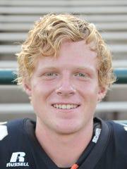Abilene High quarterback Andrew Ezzell