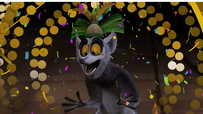 King Julien hosts a New Year's Eve countdown on Netflix.