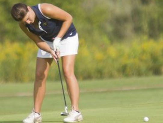 Hartland's Haley Larsen missed qualifying for the state
