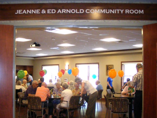 The Jeanne and Ed Arnold Community Room and Worship