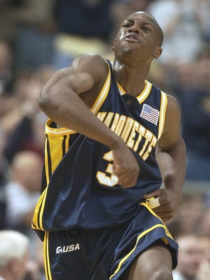 Dwyane Wade and Marquette upset No. 1 Kentucky to reach the 2003 Final Four.