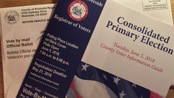Coachella Valley voters will decide candidate and issues elections this spring.