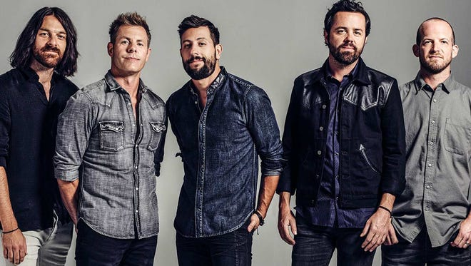 Country music group Old Dominion is set to perform on May 4 at Tricky Falls in Downtown El Paso.