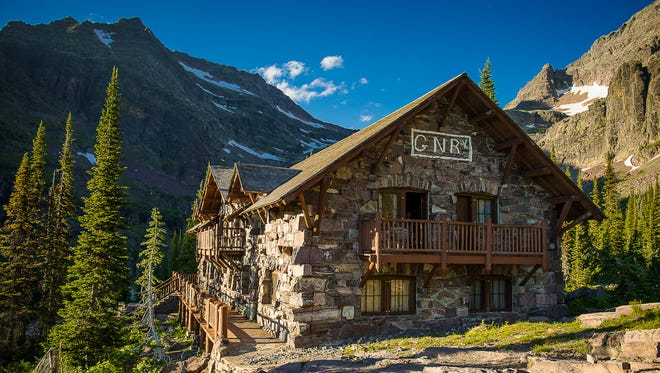 Sperry Chalet was built in 1913 and destroyed by the Sprague Fire on Aug. 31, 2017. It was 104 years old.
