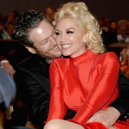 Gwen Stefani says one of Blake Shelton's exes 'had my face plastered all over her room'
