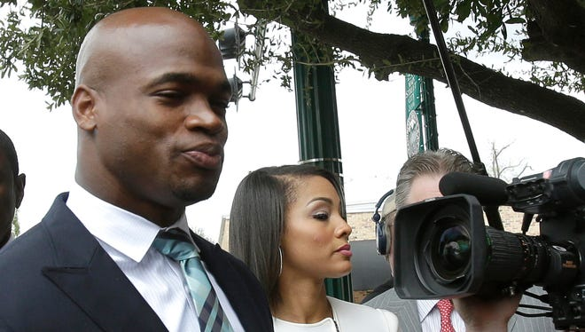 Adrian Peterson has worked out his legal issues and should now be allowed to return to the Vikings.