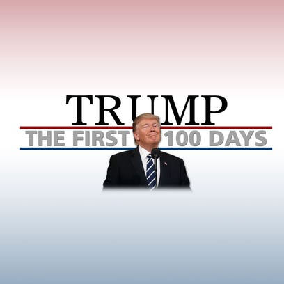 Trump supporters pleased with first 100 days