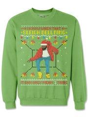 """Hotline Bling"" ugly Christmas sweatshirt (Freshbrewedtees.com,"