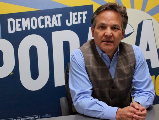 New Mexico Democratic gubernatorial candidate Jeff