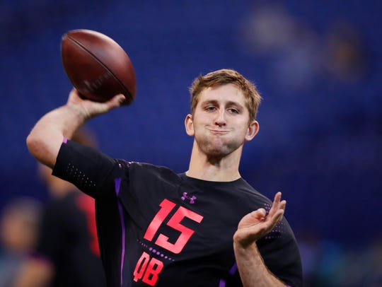 Josh Rosen figures to go in the first three picks of