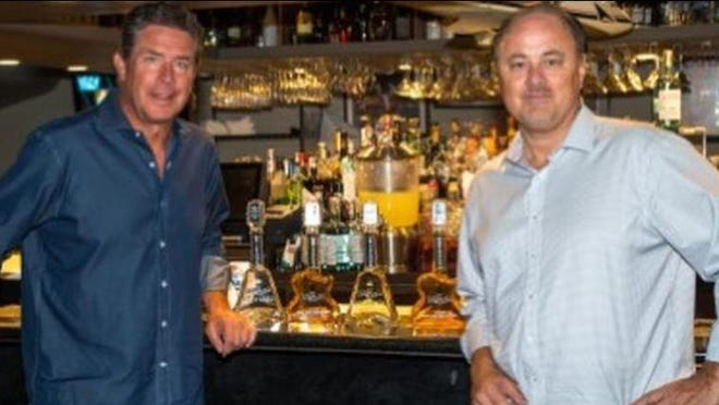 Dan Marino and Scott Woolley partnered in a venture, Rock N Roll Tequila, which sold tequila in a guitar-shaped bottle.