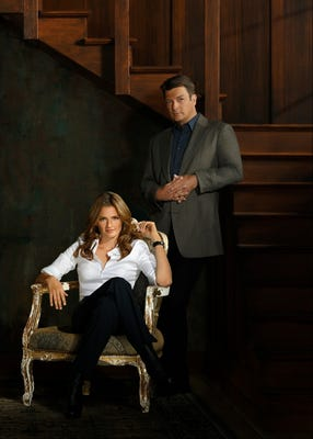 It's a new season for Beckett (Stana Katic) and Castle (Nathan Fillion). (Photo: Bob D'Amico, ABC)