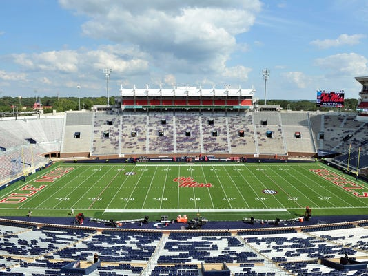 NCAA Football: South Alabama at Mississippi