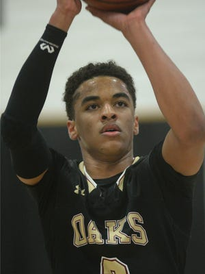 Oaks Christian senior Jordan Jones was one of the many area stars who could stretch a defense with his shooting skills from beyond the 3-point line.